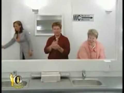 Bathroom Mirror Prank Funny