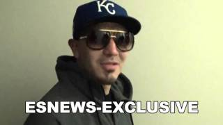 EXCLUSIVE BRANDON RIOS post bradley fight both meet in hall - EsNews Boxing