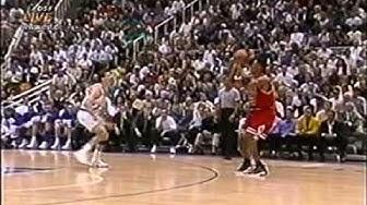 NBA Finals 1997/98 6. Spiel Utah Jazz - Chicago Bulls mit Frank Buschmann (DSF)