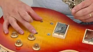 Mark John Sternal installs a Stetsbar Tremolo on a stock Gibson Les Paul