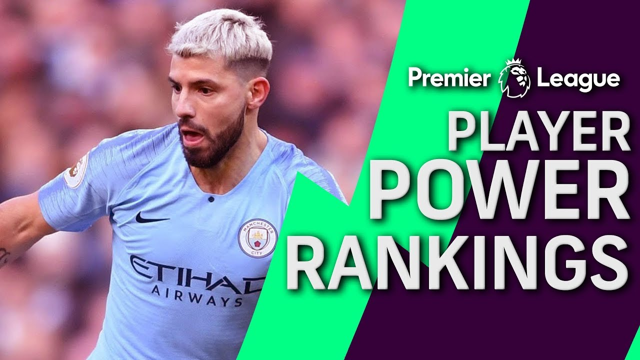 Sergio Aguero at top of Premier League player power rankings | Premier League | NBC Sports
