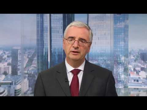 "Deutsche Bank's Achleitner: Hong Kong is a ""First Rate"" Financial Centre"