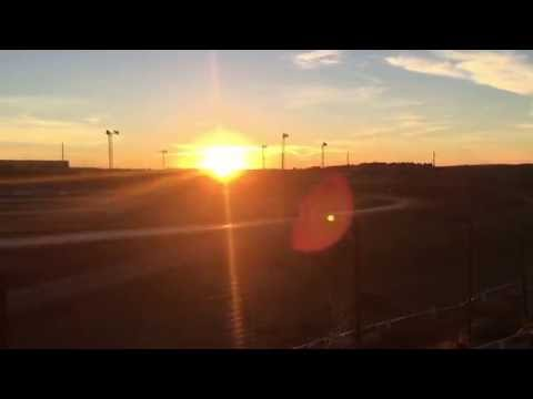 8/20/2016 Gillette Thunder Speedway heat race (outside)