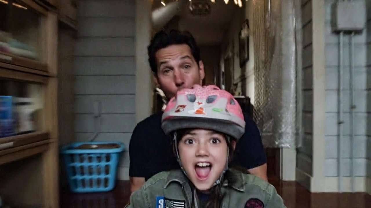 Ant-Man and the Wasp (2018) - Ant-Man Playing With His Daughter Scene -  YouTube