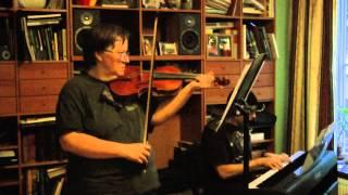 Yngve Sköld - Valse Caprice for violin and piano