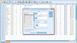 SPSS Tutorial 6 - Introducing Cross-tabulation