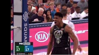 Mario Hezonja Stepped Over Giannis and The Greek Freak Sent A Message Back