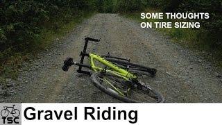 Gravel Grinding: Tire Sizes