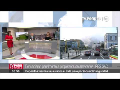 Municipalidad de Lima denunciará a representantes de almacenes JPEG SAC
