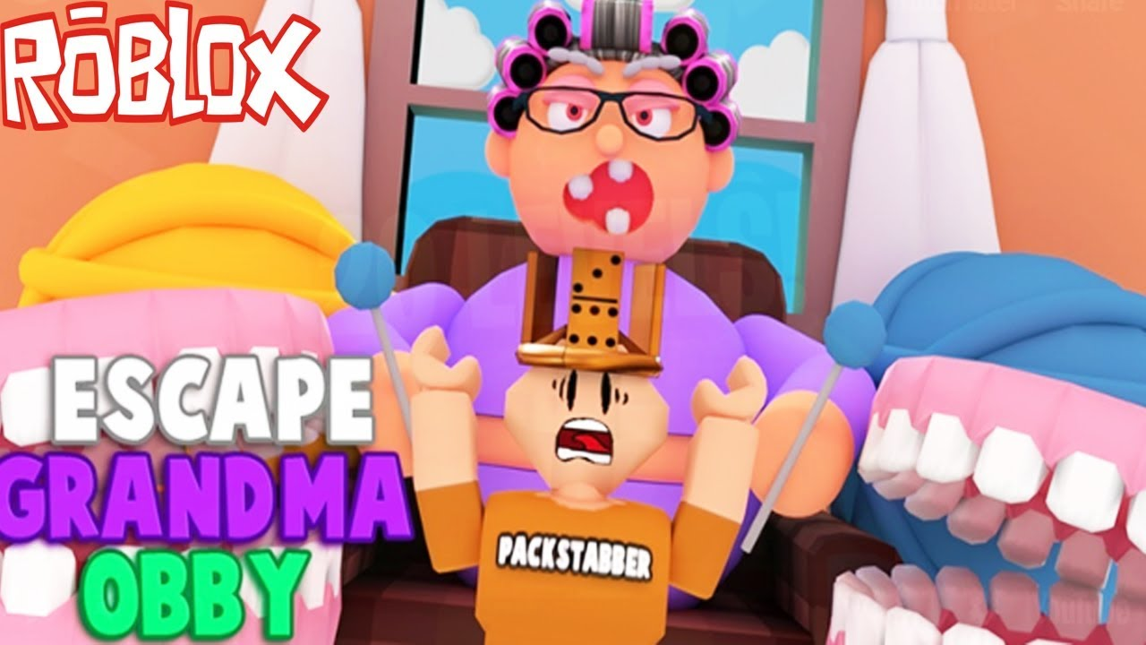 Crazy Ways To Escape Grandma S House In Roblox Youtube