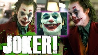 First Look at Joaquin Phoenix As The Joker! - My Thoughts
