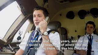 Turkish Airlines pilot thanks his teacher [with English Subtitles]