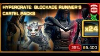 SWTOR - Opening 24x Blockade Runner