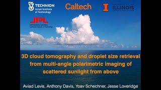 3D Polarimetric Cloud Tomography: SPIE 2021