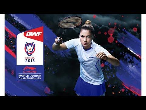 2018 World Junior Badminton Championships Live Court 4 - November 12