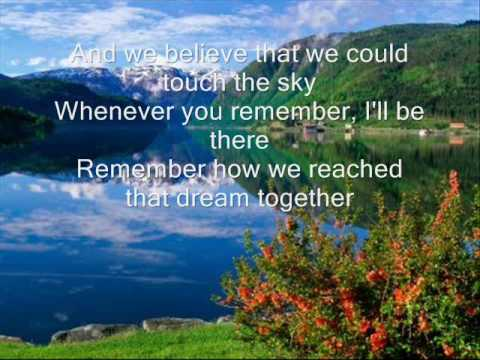 Whenever you Remember by Carrie Underwood w/ lyrics