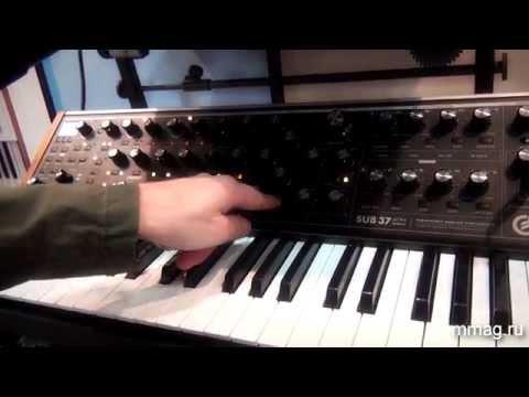 mmag.ru: Moog Sub37 - аналоговый синтезатор