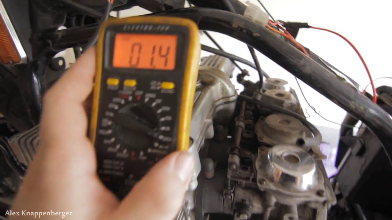 how to test ignition coils on motorcycles w multi meter [ 1280 x 720 Pixel ]