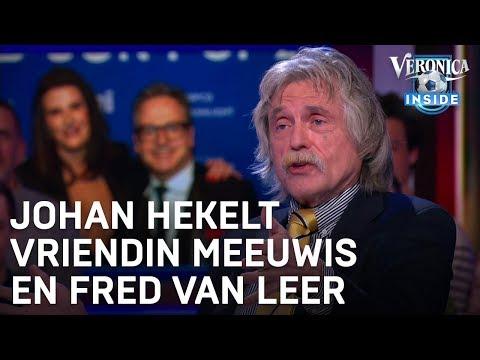 Johan hekelt vriendin Guus Meeuwis en Fred van Leer: 'Fuck off!'   VERONICA INSIDE