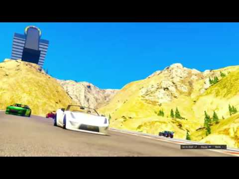 Go Speed Racer Go - Ali Dee and The Deekompressors - Grand Theft Auto Online GTA 5 Music Video