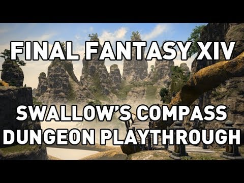 FFXIV: Swallows Compass Dungeon Playthrough