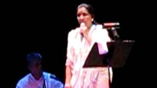 Aaj Jane Ki Zid Na Karo - Asha Bhonsle 9/30/11 at the Paramount in Oakland