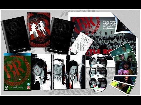 """Распаковка Blu-ray """"Королевская битва"""" коллекционное издание / """"Battle Royale"""" collector's edition"""