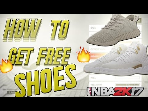 new styles a47bd 3799e NBA 2K17 UNLIMITED Free Shoes Glitch! How to get any CUSTOM shoe for FREE  Glitch