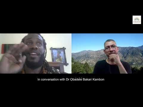 In conversation with Dr Ọbádélé Bakari Kambon