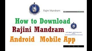 How to Download Rajini Mandram Android  Mobile App - Rajini Mandram APK