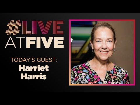 Broadway.com #LiveatFive with Harriet Harris of THE LOW ROAD