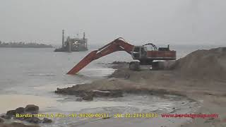 Bardai PLC - Tata Hitachi EX-700 Excavator-With long arm-Rental Basis-On hire.