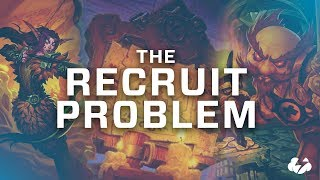 The Recruit Problem | Hearthstone | [Witchwood]