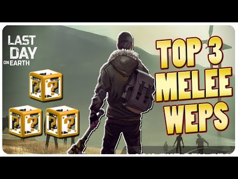 TOP 3 MELEE EQUIP + More Turret Discoveries | Last Day On Earth Game