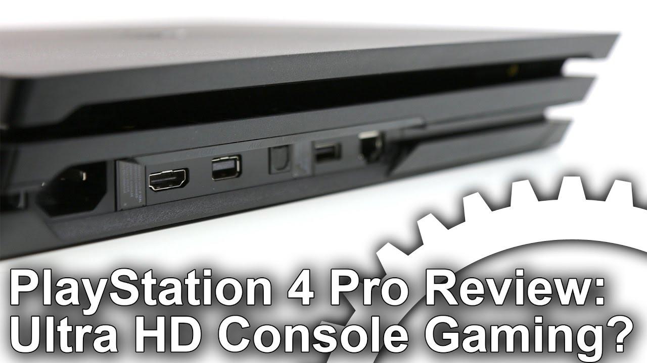 Sony PlayStation 4 Pro review • Eurogamer net