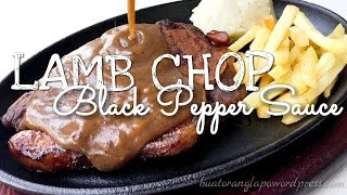 Lamb Chop with Black Pepper Sauce