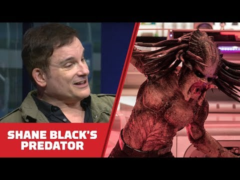 How Shane Black Has Made The Ultimate Predator - Comic Con 2018