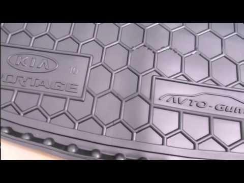 Видео обзор коврика в багажник Avto Gumm