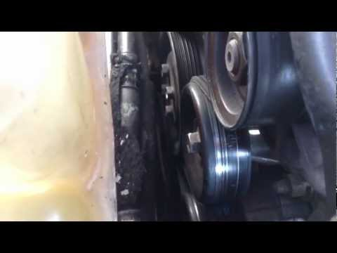 How to replace a tensioner pulley
