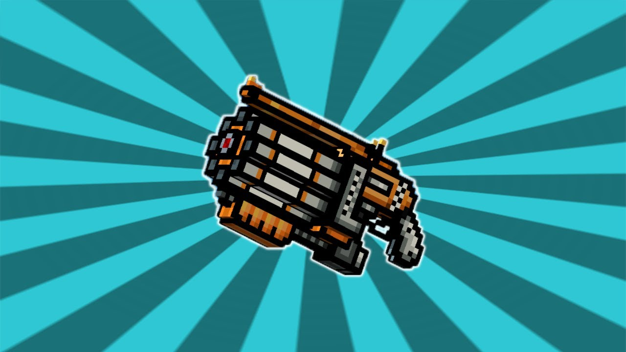 pixel gun 3d beta weapon minigun shotgun review