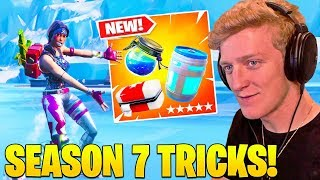 Streamers Use *NEW * HEAL WHILE MOVING TRICK! ¡ TEMPORADA 7 SECRETO! - Fortnite FUNNY Moments