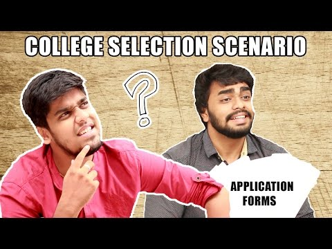 College Selection After + 2 Results | Exact Scenario Funny Video | Arts Or Engineering ? Must Watch