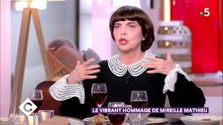 Au dîner avec Mireille Mathieu ! - C à Vous - 09/11/2018