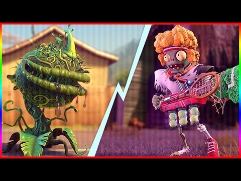 SERVE AND VOLLEY SUPER MIX MODE! Plants vs Zombies Garden Warfare 2