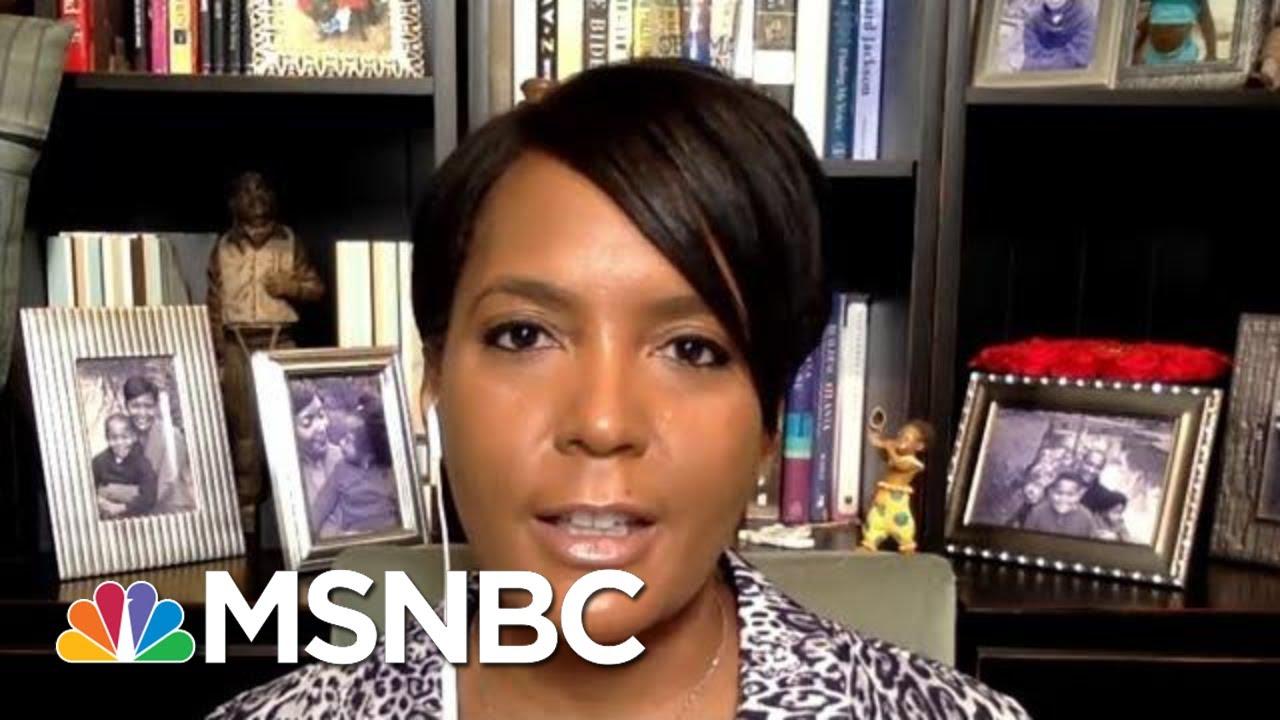 Atlanta Mayor Asks Trump To Be The Leader We Need Right Now | Morning Joe | MSNBC