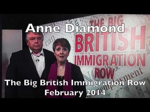 Anne Diamond - The Great British Immigration Row - February 2014