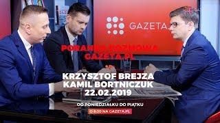 Poranna rozmowa Gazeta.pl z Krzysztofem Brejzą i Kamilem Bortniczukiem