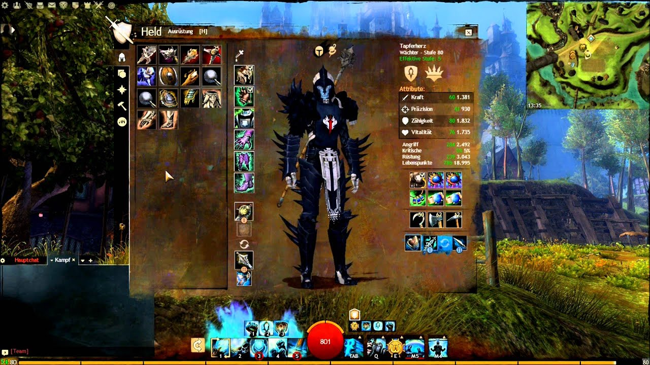 Guild Wars  Guaridan Build
