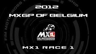 2012 MXGP of Belgium - FULL MX1 Race 1 - Motocross