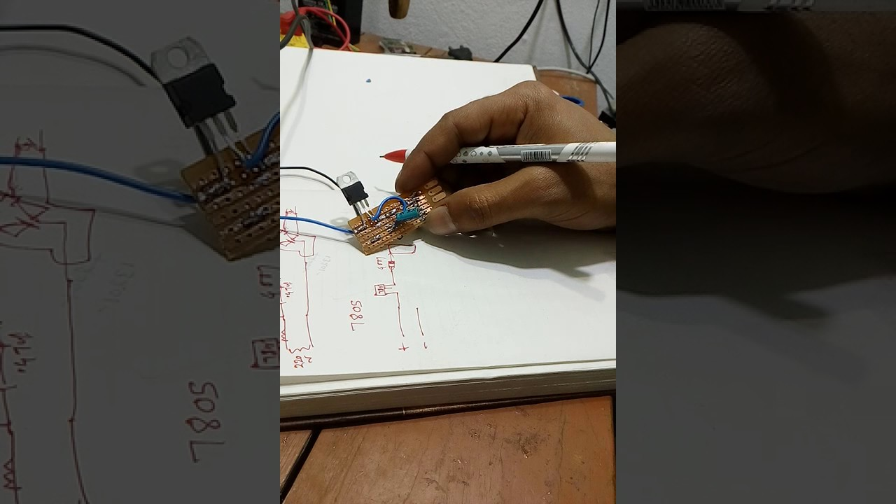 How To Make 5 Volt Mobile Charger Circuit From 6v12v Dc Battery Diagram Electronic Diagrams Baba